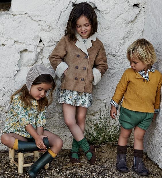 Spanish Children Clothes - Neck & Neck