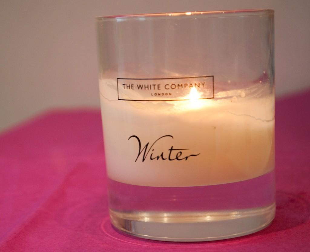White Company Winter Candle