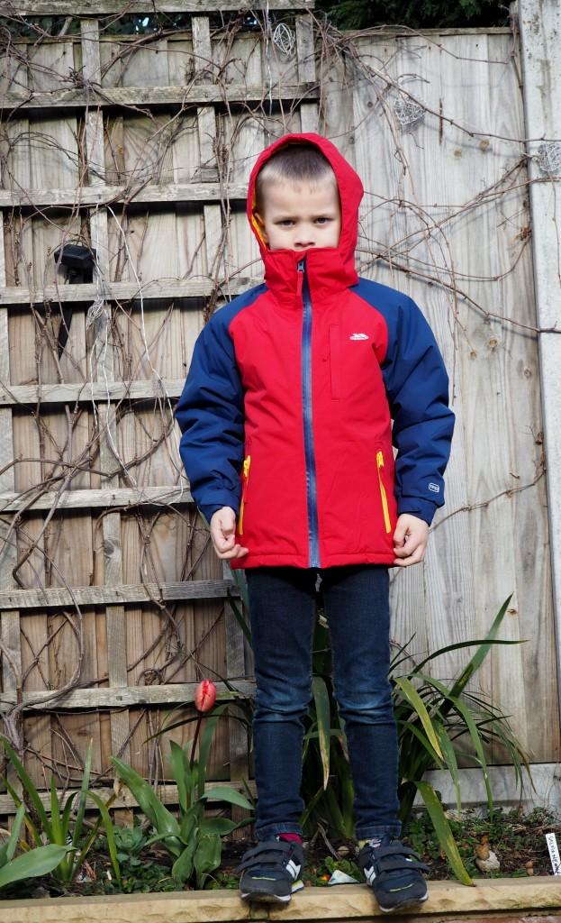 Trespass Rhys Boys Snow Jacket