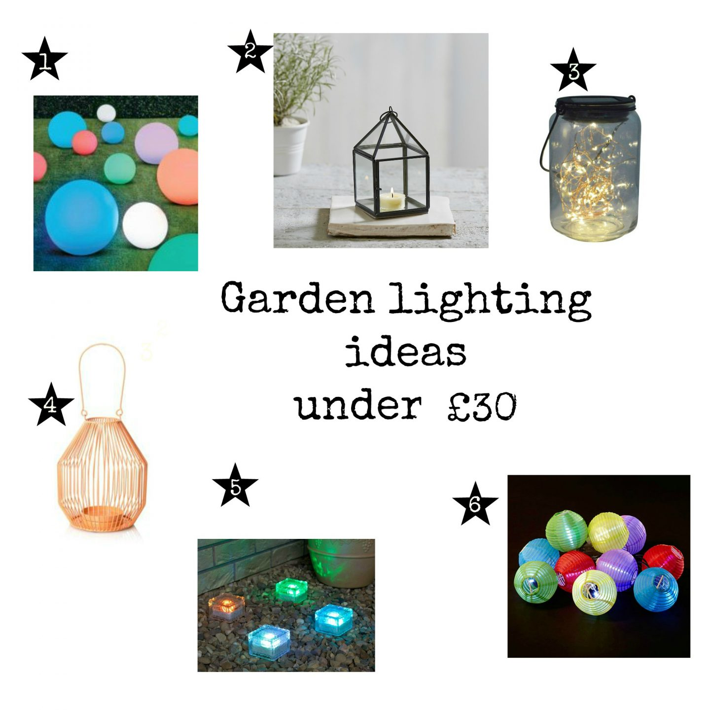 Garden lighting inspiration