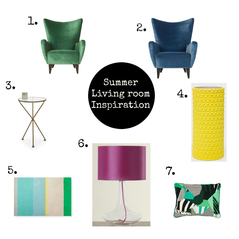 Summer Living room inspiration