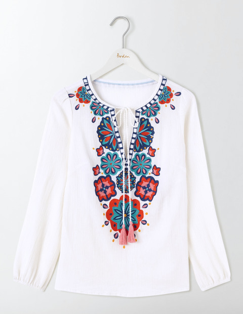 The best embroidered tops