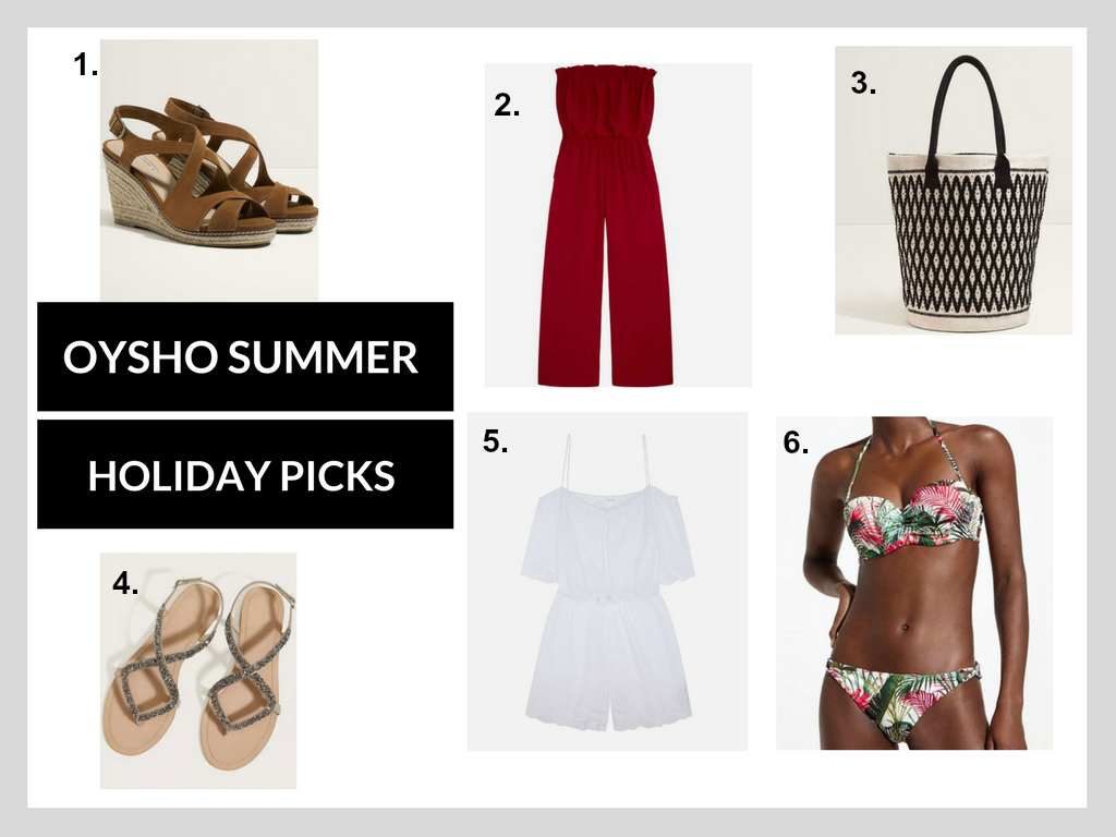 Oysho Summer Holiday picks