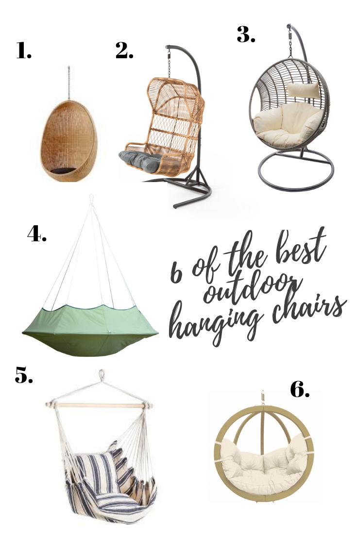 6 of the best outdoor hanging chairs