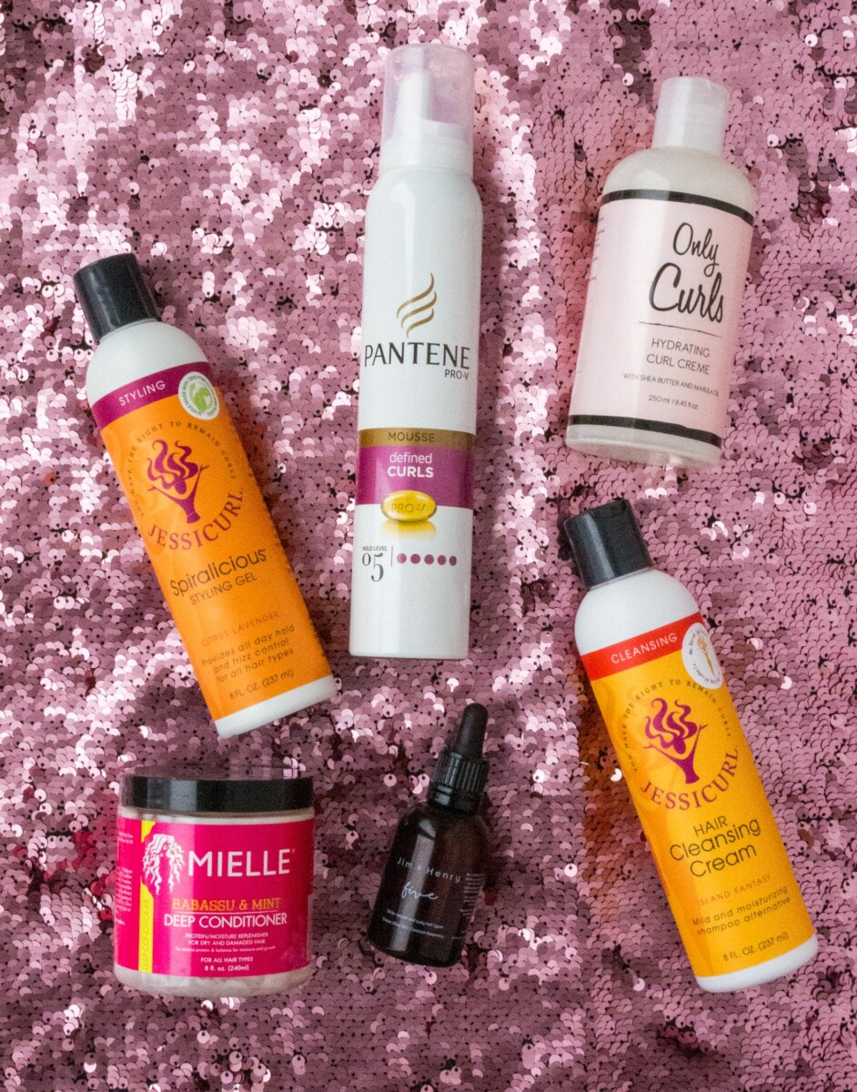 My Favourite Curly Girl Products of 2020 all products